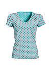 veranda feger shirt, berry dots, Shirts, Türkis