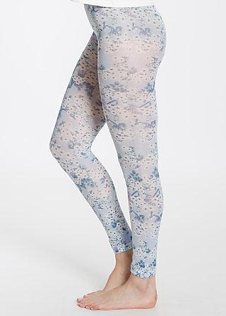 Wild legs , tender times, Leggings, Blau