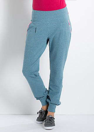 dancers workout pants, your eyes so blue, Hosen, Blau