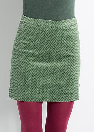 maschentanz mambo skirt, slipover spikes, Röcke, Grün
