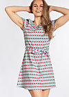 cry to me dress, babies bordure, Woven Dresses, Blau