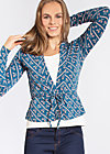 devils sweetheart cardigan , tennis talent, Cardigans, Blau