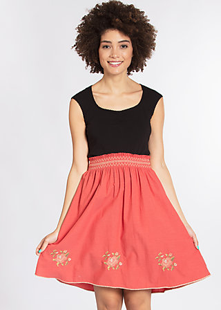 do you love me skirt, lisas red passion, Webröcke, Rot