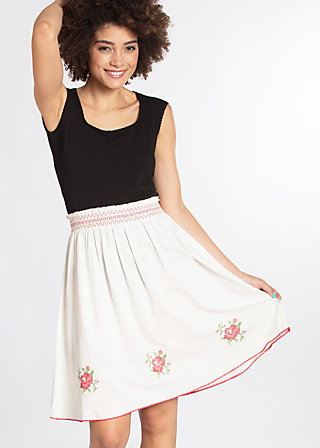 do you love me skirt, white foxtrot, Woven Skirts, Weiß