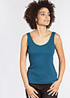 eternal excercise top, blue sport rib, Tops, Blau