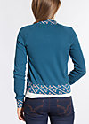 let´s play cardy , blue sport rib, Zipperjacken, Blau