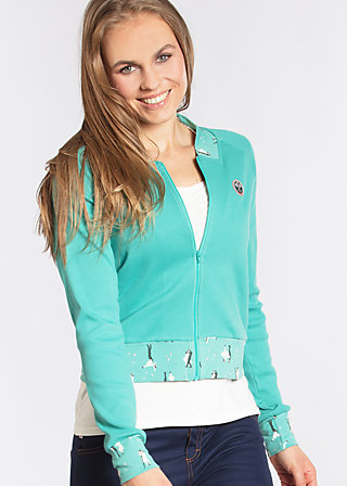 let´s play cardy , blue lagoon rib, Zip jackets, Türkis
