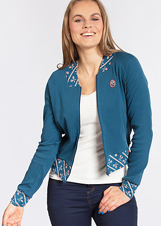 let´s play cardy , blue sport rib, Zip jackets, Blau