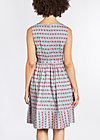 love man dress, babies bordure, Woven Dresses, Blau