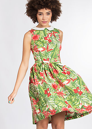 love man dress, exotic evergreen, Webkleider, Grün