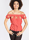 pennys blouse, lisas red passion, Blusen, Rot