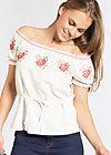 pennys blouse, white foxtrot, Blusen, Weiß
