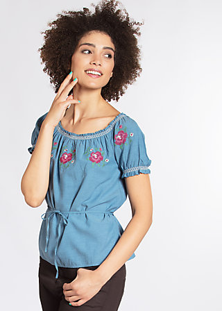 pennys blouse, blue smoke eyes, Blusen, Blau