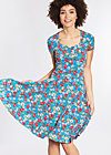 ringelpietz dress , mountain flower, Jerseykleider, Blau
