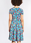 ringelpietz dress , mountain flower, Jersey Dresses, Blau