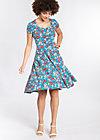 ringelpietz dress , mountain flower, Jerseykleider, Blau