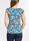 sailor baby top, mountain flower, Tops, Blau