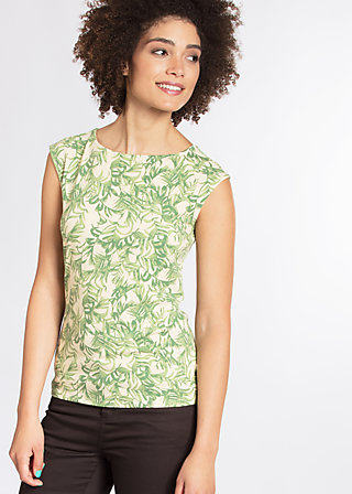 sailor baby top, love for leaves, Tops, Grün