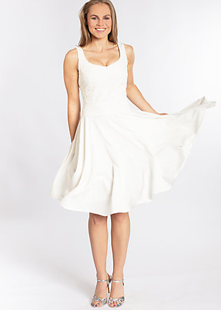 time of my life dress, white foxtrot, Woven Dresses, Weiß