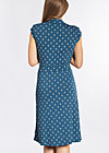 wipeout dress, be my little anchor, Jersey Dresses, Blau