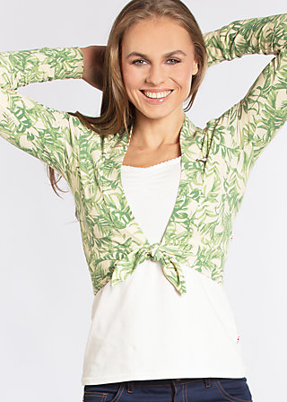 wrapperty wrap jack, love for leaves, Cardigans, Grün