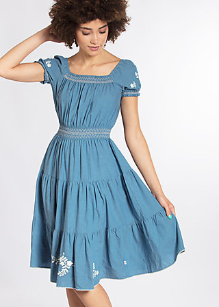 you don't own me dress , blue smoke eyes, Webkleider, Blau