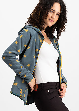 balkan woods jacket, stars of istanbul, Fleece Jackets, Grün
