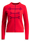 controleuse scandaleux cardy, luxury traintravel, Jumpers & lightweight Jackets, Red