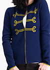 controleuse scandaleux cardy, midnight traintravel, Pullover & leichte Jacken, Blau