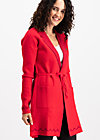 gone with the ostwind coat, luxury traintravel, Jumpers & lightweight Jackets, Rot