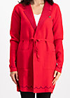 gone with the ostwind coat, luxury traintravel, Knitted jackets, Rot