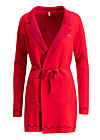 gone with the ostwind coat, luxury traintravel, Strickjacken, Rot
