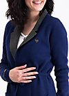 gone with the ostwind coat, midnight traintravel, Knitted jackets, Blau