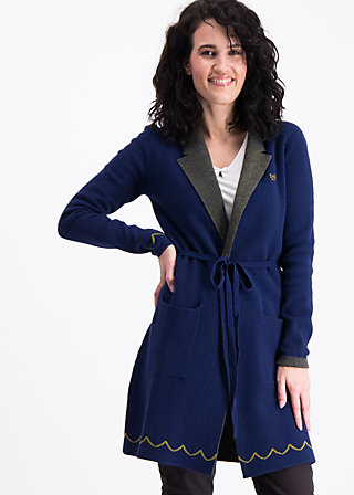 gone with the ostwind coat, midnight traintravel, Pullover & leichte Jacken, Blau