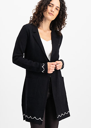 gone with the ostwind coat, night traintravel, Pullover & leichte Jacken, Schwarz