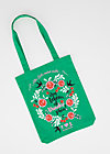 just wunderbar tote bag, meet me in green, Accessoires, Green