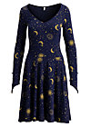 miserlou performance robe, enchanted night, Jerseykleider, Blau