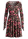 miserlou performance robe, hungarian roses, Jerseykleider, Schwarz