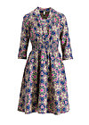 railway romance dress, magic carpet, Webkleider, Blau