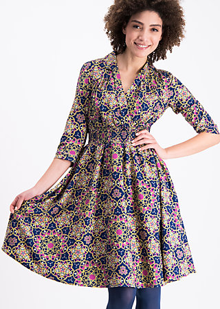 railway romance dress, magic carpet, Dresses, Blau