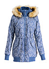 schneewoelkchen longjacket, dutch ornamental, Mäntel, Blau
