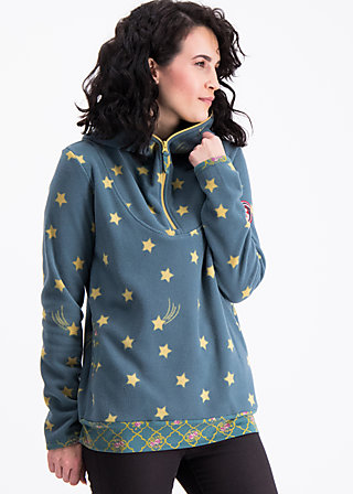 sirkeci station sweater, stars of istanbul, Fleece jumpers, Grün