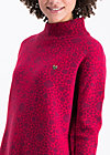 topkapi turtle pullover, welcome to dreamland, Strickpullover, Rot