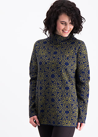 topkapi turtle pullover, welcome to constaninople, Knitted Jumpers, Blau