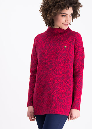 topkapi turtle pullover, welcome to dreamland, Knitted Jumpers, Rot