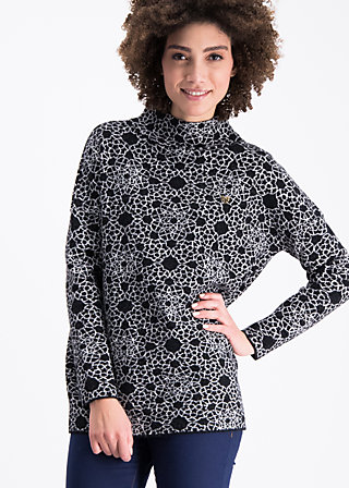 topkapi turtle pullover, welcome to the woods, Knitted Jumpers, Schwarz