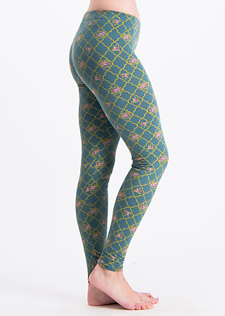 trés chouette legsters, orient salon, Leggings, Green