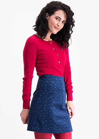 velvet eyes jupe, dots of vienna, Woven Skirts, Blau