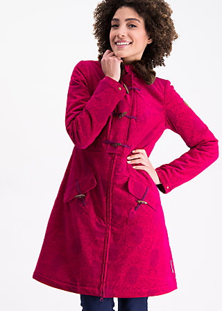 velvet garden coat , ornaments of dreams, Jackets & Coats, Red