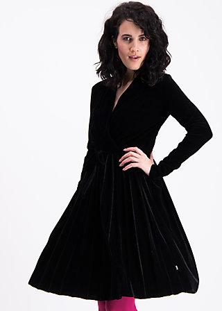 velvet heart robe, black velvet, Kleider, Schwarz